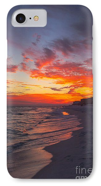 Destin Sunset Phone Case by Kay Pickens