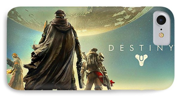 Destiny 1  IPhone Case by Movie Poster Prints