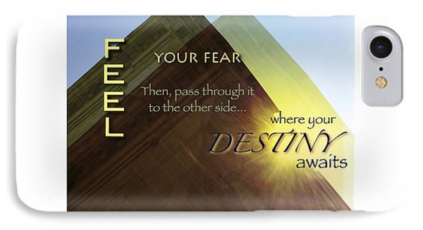 Your Destiny Waits IPhone Case by Mark David Gerson