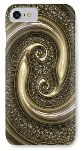 Detail From Repousse In Bronze IPhone Case by John Edwards