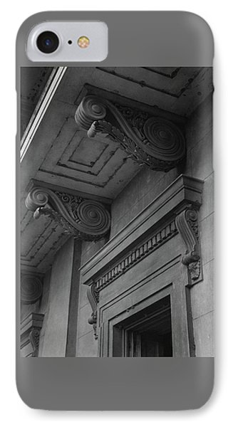 Detail Of Exterior Molding At A Plantation Home IPhone Case by F.S. Lincoln