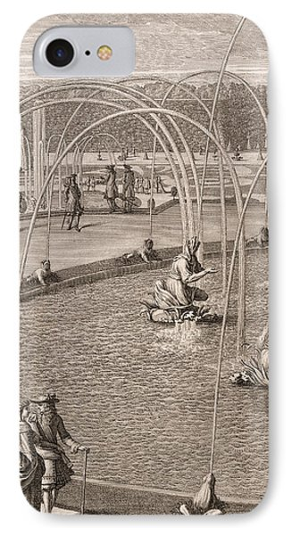 Detail Of Fountain Of Diana And Apollo At Versailles IPhone Case