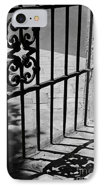 IPhone Case featuring the photograph Detail Of Gate In Seville by Cendrine Marrouat