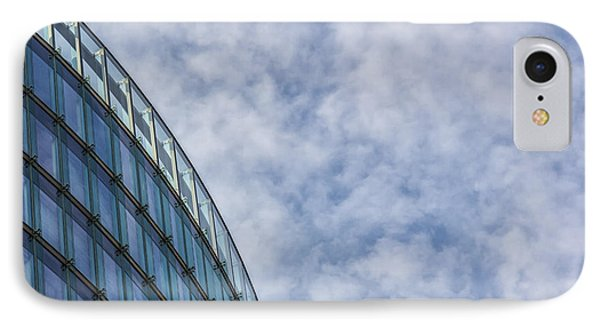 Detail Of Modern Buildings. Citylife IPhone Case