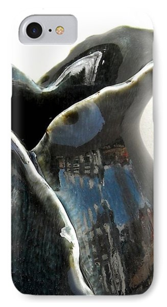 Detail Of Porcelain Petal Vase 1  IPhone Case