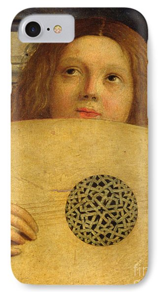 Detail Of The San Giobbe Altarpiece IPhone Case by Giovanni Bellini