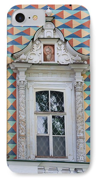 Details Of The Refectory Of The Church IPhone Case by Panoramic Images