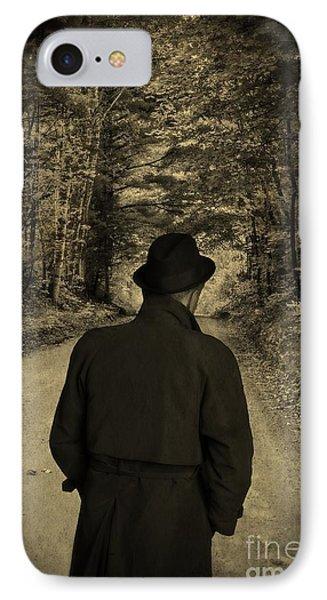 Hard-boiled Detective Novel IPhone Case by Edward Fielding