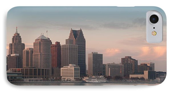 Detroit At Dusk Phone Case by Andreas Freund