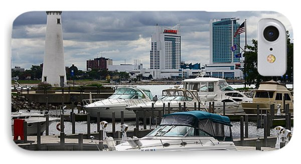 Detroit Boat Docks IPhone Case