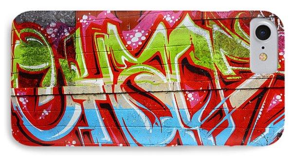 Detroit Graffiti IPhone Case