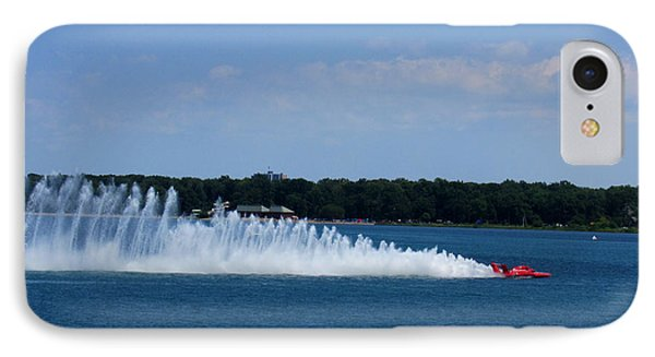 Detroit Hydroplane Races Phone Case by Michael Rucker