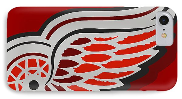 Detroit Red Wings Phone Case by Tony Rubino