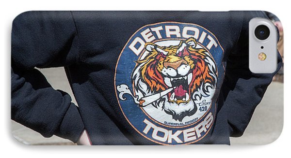 Detroit Tokers IPhone Case by Jim West