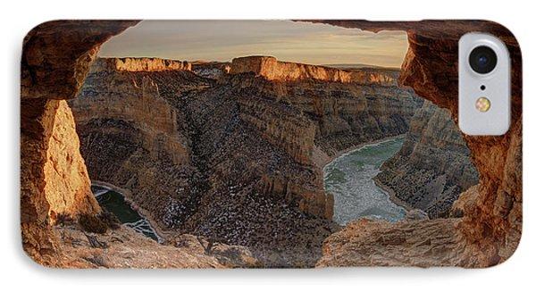 Devil Canyon View IPhone Case