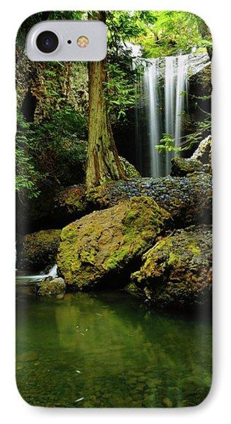 Devil Creek Falls  Phone Case by Jeff Swan