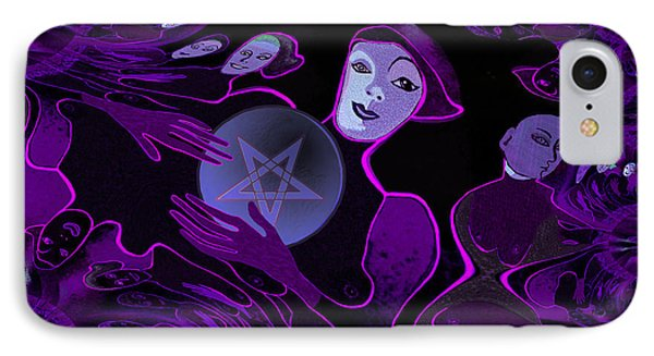 Devils  Angels - 257 IPhone Case