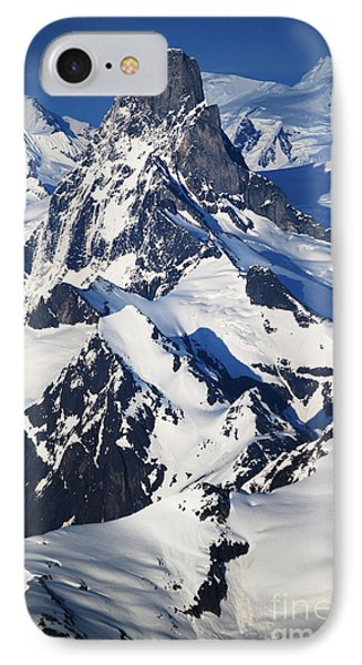 Devil's Thumb From The Air IPhone Case by Cynthia Lagoudakis