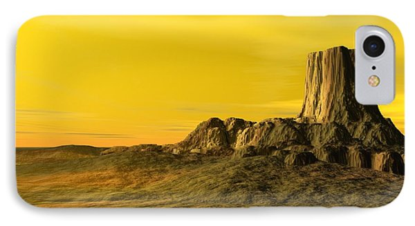 Devils Tower IPhone Case by John Pangia