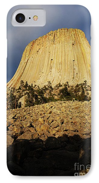 IPhone Case featuring the photograph Devils Tower National Monument Wyoming Usa by Shawn O'Brien