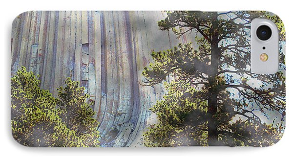 IPhone Case featuring the photograph Devil's Tower Wyoming by Ann Johndro-Collins