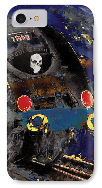 Devil's Train Phone Case by Pennie  McCracken