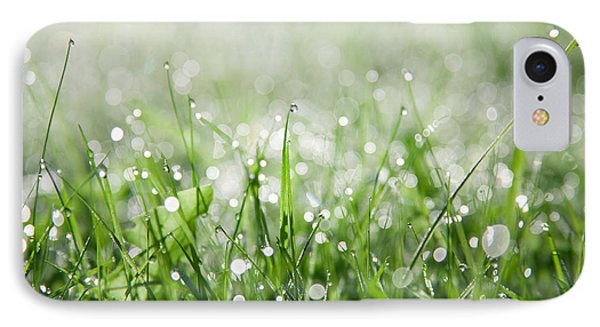 Dew Drenched Morning IPhone Case by Jan Bickerton