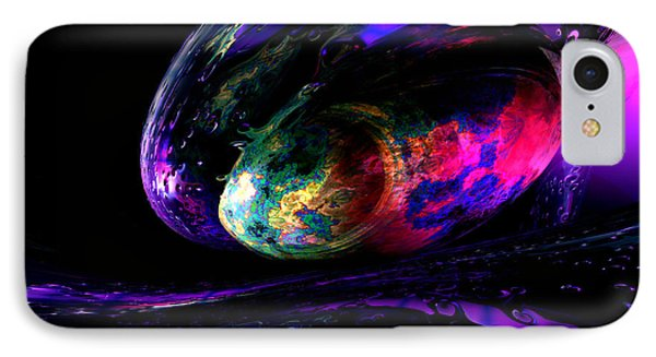 Dew Of A Rainbow IPhone Case by Alexander Butler