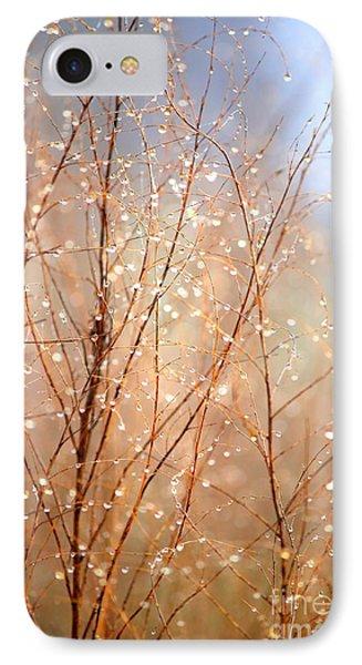 Dewdrop Morning Phone Case by Carol Groenen