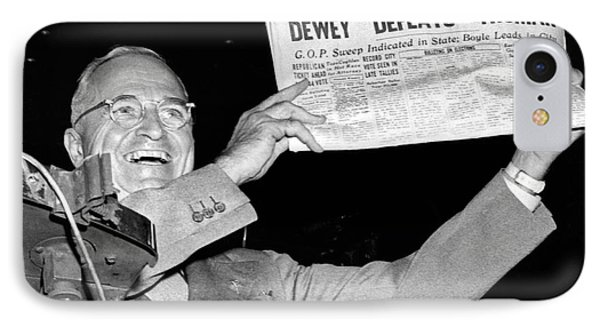 Dewey Defeats Truman Newspaper Phone Case by Underwood Archives