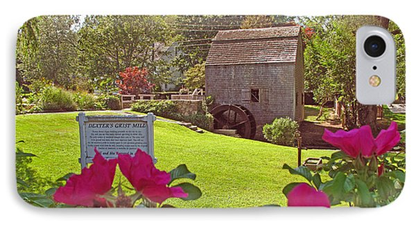 Dexters Grist Mill Two IPhone Case by Barbara McDevitt