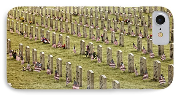 Dfw National Cemetery II IPhone Case