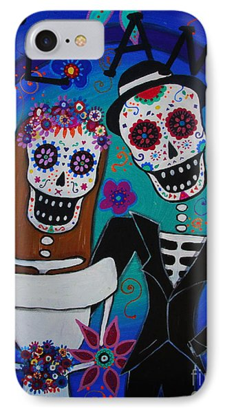 Dia De  Los Muertos Te Amo IPhone Case by Pristine Cartera Turkus