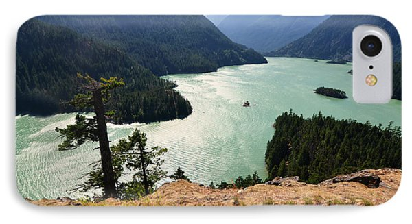 Diablo Lake IPhone Case by Kelly Reber