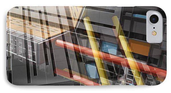 Diagonal Mondrian IPhone Case by Wayne Sherriff