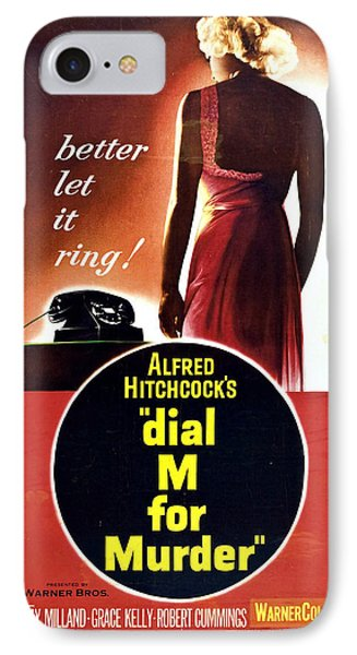 Dial M For Murder - 1954 IPhone Case by Georgia Fowler
