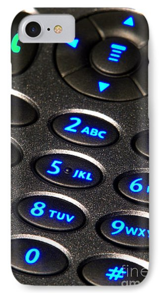 Dial Up IPhone Case by Olivier Le Queinec