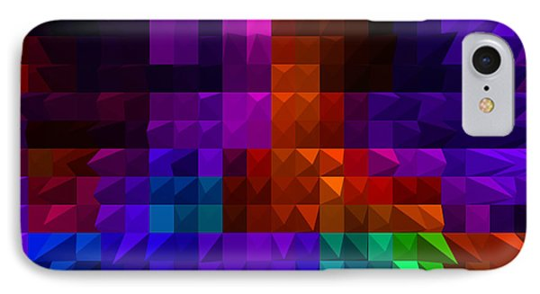 IPhone Case featuring the digital art Diamond Cut by Gayle Price Thomas