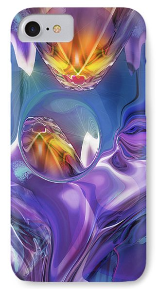 Diamond Dance IPhone Case by Steve Sperry