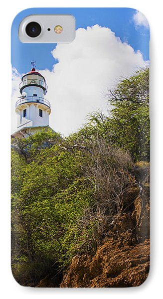 Diamond Head Lighthouse - Oahu Hawaii Phone Case by Brian Harig