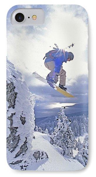 Diamond Peak, Lake Tahoe, Nevada, Usa IPhone Case by Dan Sherwood