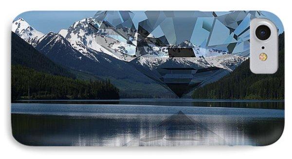 Diamonds Darling IPhone Case by Ron Davidson