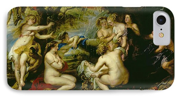 Diana And Callisto IPhone Case by Peter Paul Rubens