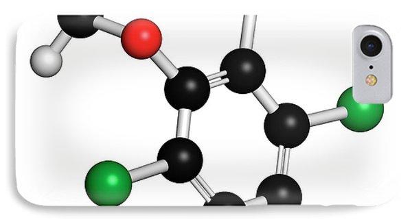 Dicamba Herbicide Molecule IPhone Case