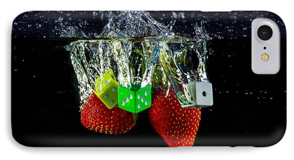 Dice Splash Phone Case by Rene Triay Photography