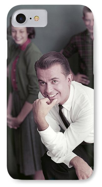 Dick Clark 1959 IPhone Case by The Harrington Collection