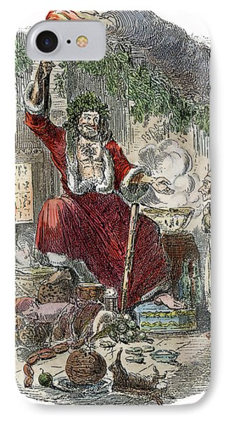 Dickens Christmas Carol, 1943 IPhone Case by Granger