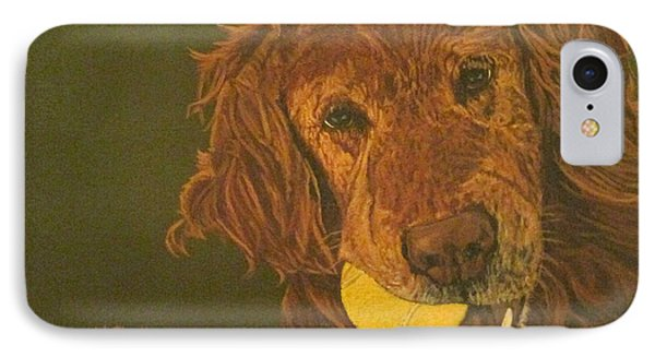 Did Somebody Say Ball? IPhone Case by Wendy Shoults