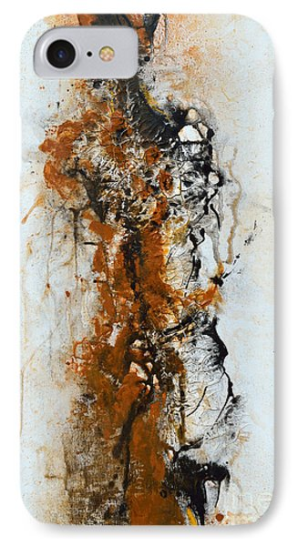 Die Trying - Abstract Phone Case by Ismeta Gruenwald