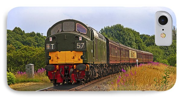 IPhone Case featuring the photograph Diesel Locomotive by Paul Scoullar